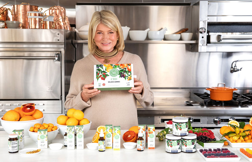 Martha Stewart CBD Products Available at The Vitamin Shoppe Stores