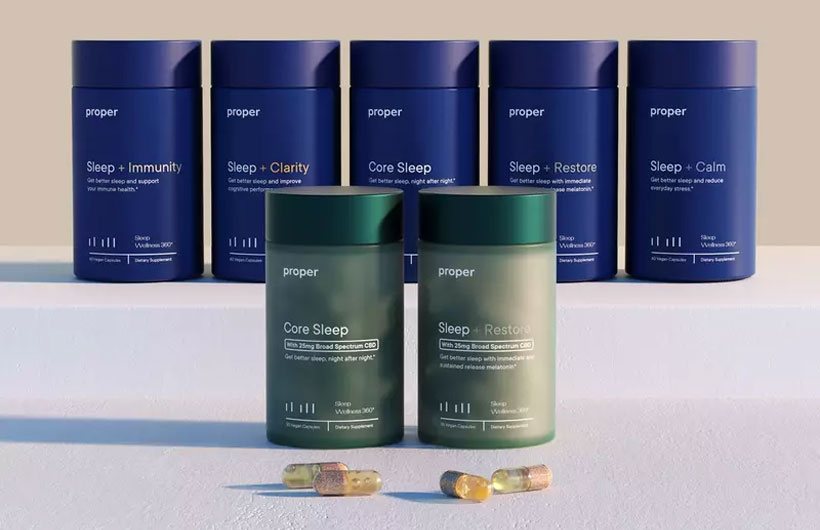 Proper Adds Two New CBD Sleep Formulas of Broad Spectrum Variety