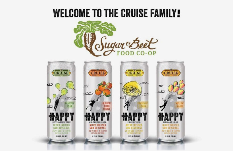 Nitro Infused CBD Craft Drinks Debut by Cruise Beverages