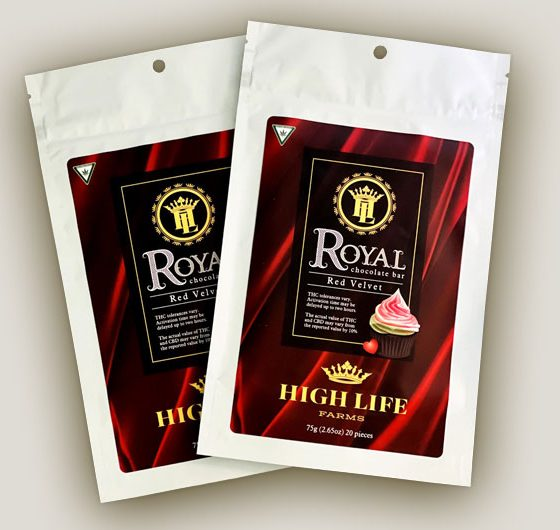 High Life Farms Releases New Royal Chocolate Bar with THC