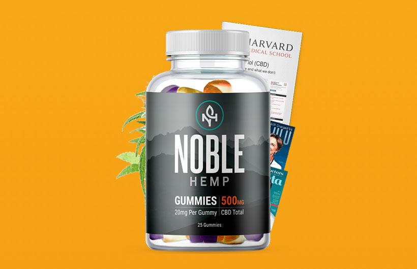 Noble Hemp Gummies: Are Noble Hemp CBD Gummies Safe to Use?