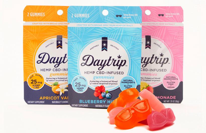 Daytrip Steps Into New Market With Hemp CBD Infused Gummies