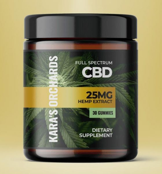 Kara's Orchards CBD Gummies: Safe Full Spectrum Hemp Extract