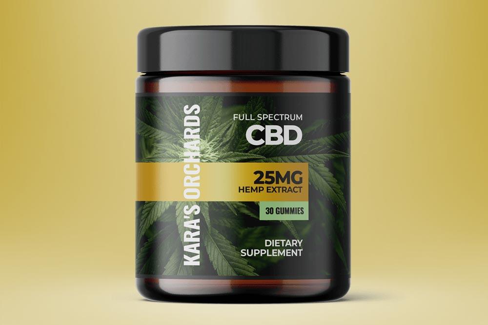 Kara's Orchards CBD Gummies: Safe Full Spectrum Hemp Extract