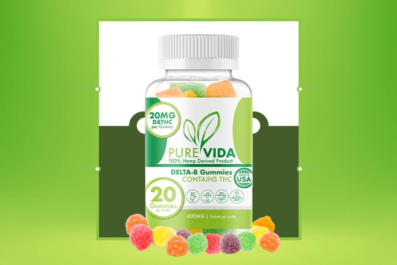 Pure Vida Delta-8 Gummies: Legit PureVida THC Edible Gummy Product?